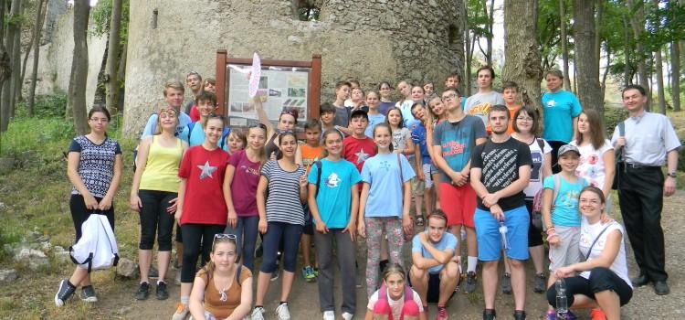 Letný tábor v Dobrej Vode
