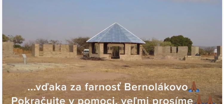 Asante = Vďaka farnosti Bernolákovo!
